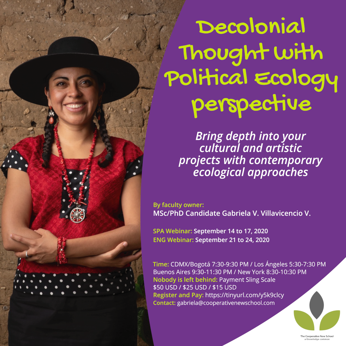 Flyer on political ecology